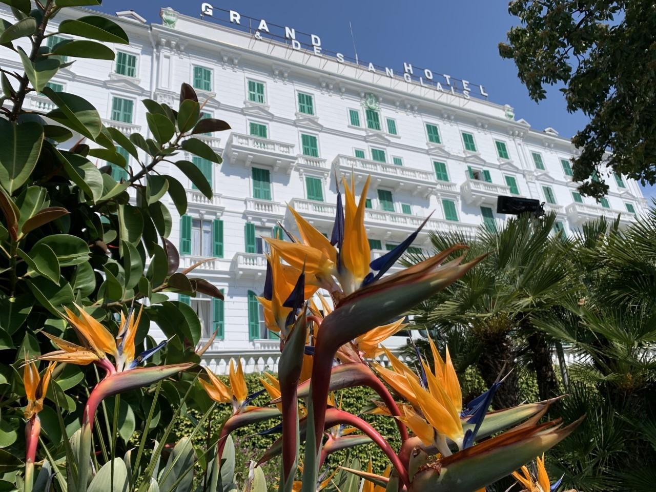2 giorni e 1 notte Pernottamento x 2 persone in camera doppia vista mare in mezza pensione al Grand Hotel & Des Anglais a Sanremo!