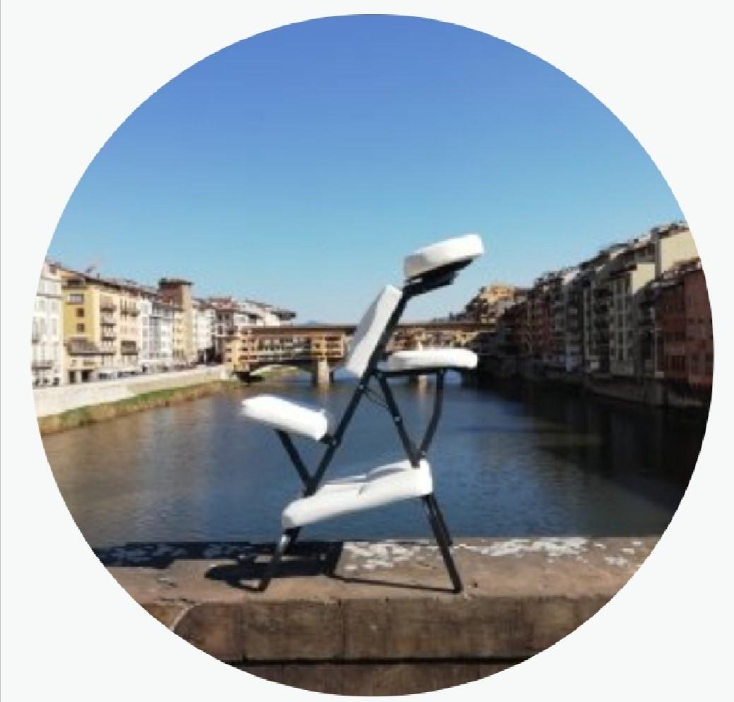 Novita'!! 1 massaggio da 30 minuti schiena collo e cervicale su sedia ergonomica nella centralissima Piazza Colombo da Pf Progetto Benessere!
