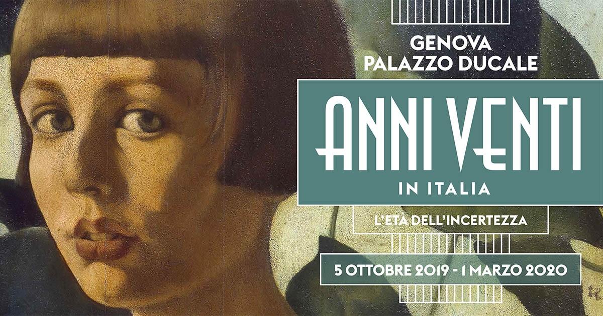Irripetibile!! Mostra Anni 20 con visita guidata da Claudia Bergamaschi di Genova in mostra al prezzo promozionale!