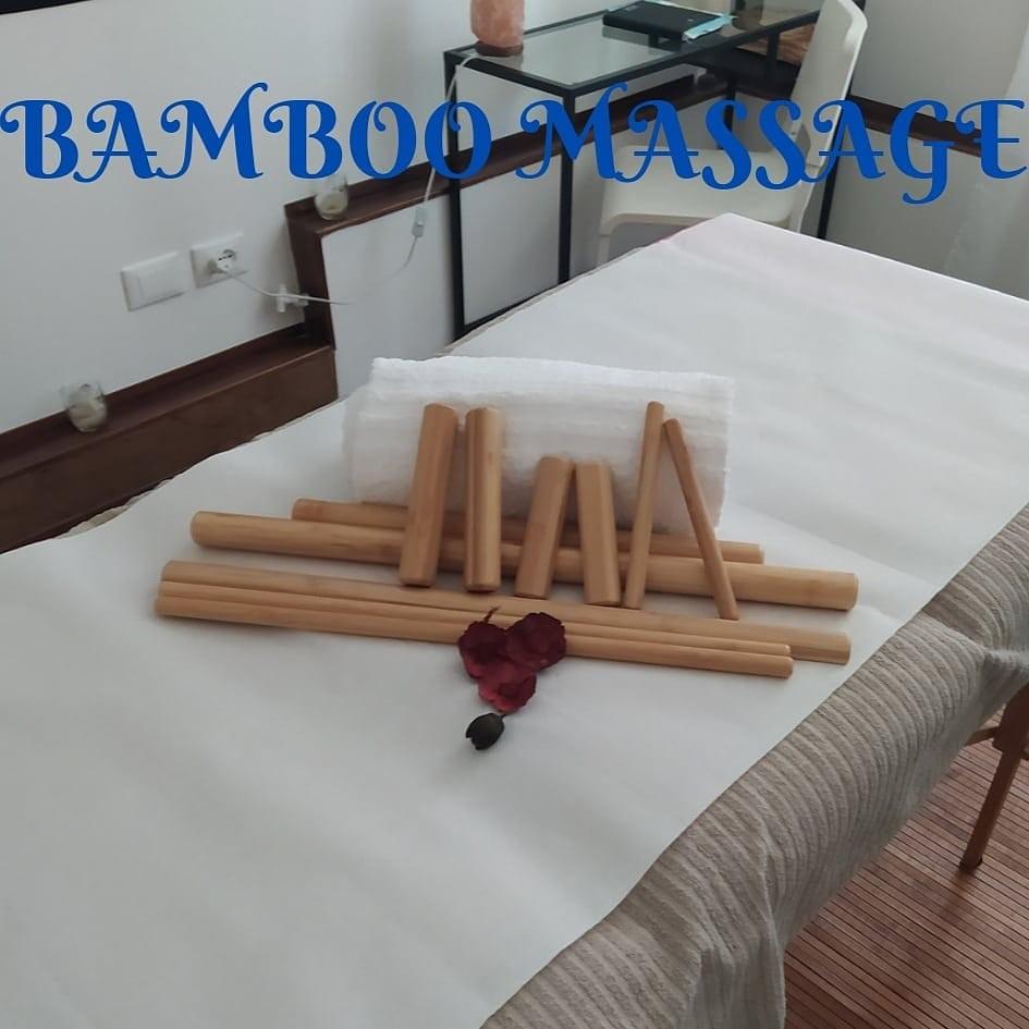 Speciale idea regalo! 1 Bamboo Massage 45 minuti! Nella centralissima Viale Sauli dall'operatrice  olistica Francini Emanuela!