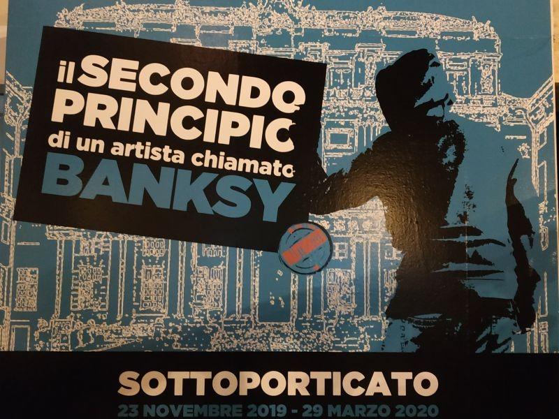 Irripetibile!! Mostra di Banski  con visita guidata da Claudia Bergamaschi di Genova in mostra al prezzo promozionale.