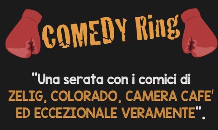 Novita'!! Comedy Ring con Zelig e Colorado - il 7 marzo allo Stradanuova Teatro Auditorium di Genova!