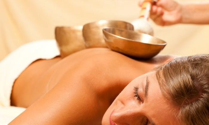 Tibetan Massage massaggio con olii caldi e l'ausilio di campane tibetane da Ricominciamo da me 1.0 in via Ciro Menotti a Sestri Ponente!