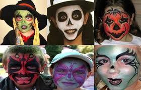 Novita! Nella giornata di Halloween seduta di trucco maschera per bambini e teenager in via XX Settembre da B.B. Estetica&Nails !!